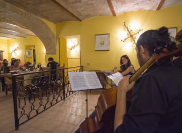 Cena con musica classica live